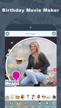 Birthday Video Maker with Name apk screenshot