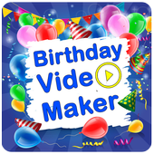 Birthday Movie Maker With Music icon