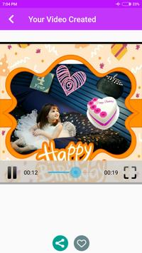 Birthday Movie Maker With Music screenshot 6