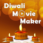 Diwali Movie Maker With Song icon