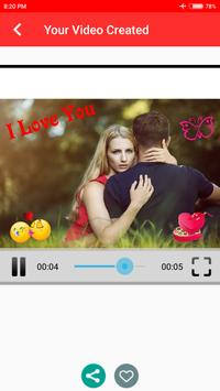 Love Movie Maker With Song screenshot 6