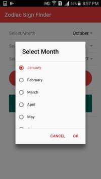 Zodiac Sign Calculator from Date of Birth screenshot 2