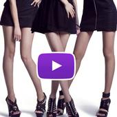 HotTube sexy girls video dance icon
