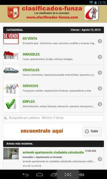 Clasificados Funza apk screenshot