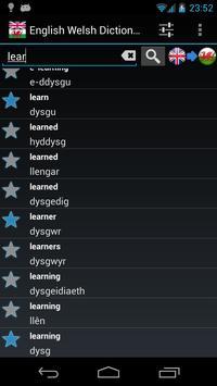 Offline English Welsh Dictionary apk screenshot