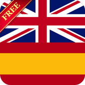 Offline English Spanish dictionary icon