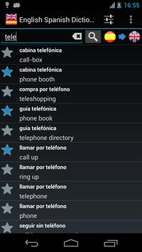 Offline English Spanish dictionary screenshot 1