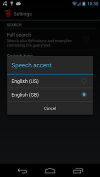 Offline English Dictionary FREE apk screenshot
