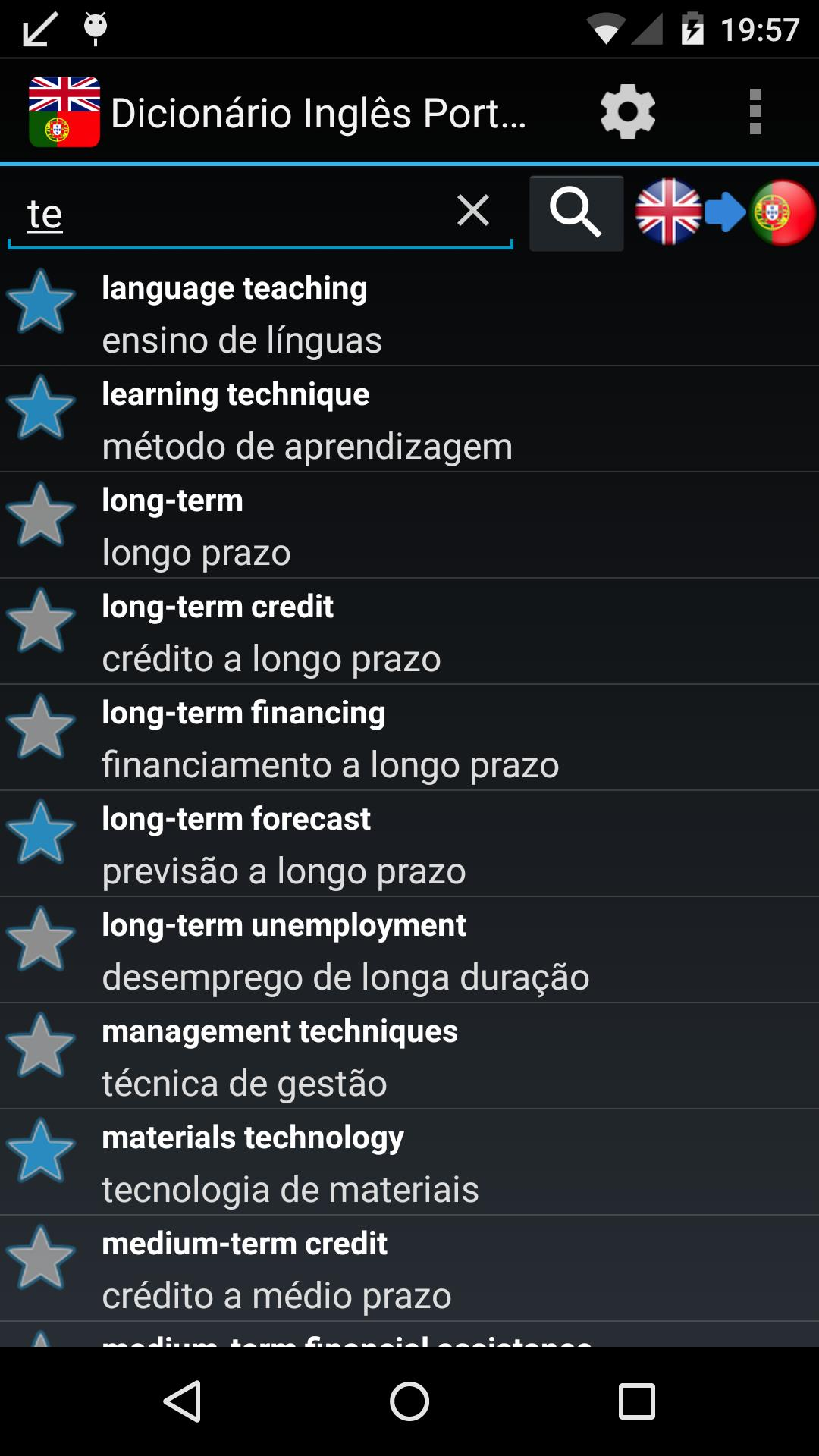 english to portuguese dictionary apk