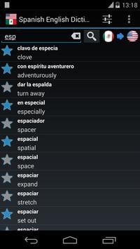 Offline Spanish English Dictionary screenshot 3