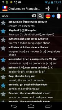 Offline French German Dictionary apk screenshot