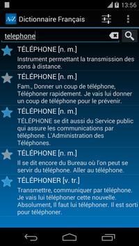 Offline French Dictionary FREE apk screenshot