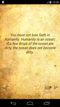 Daily Mahatma Gandhi Quotes captura de pantalla 2