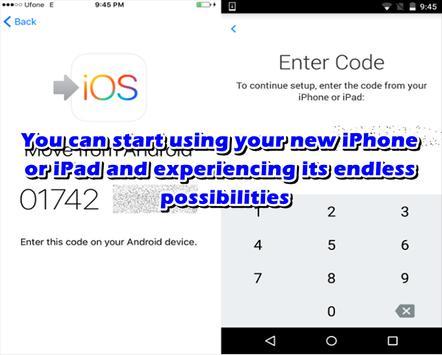 Advice Move to iOS Transfer apk screenshot