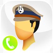 Fake Call Police Prank icon
