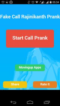 Fake Call Rajinikanth screenshot 1