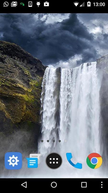 moving waterfall wallpaper poster moving waterfall wallpaper screenshot 1 ...