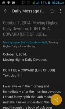 Moving Higher Daily screenshot 1