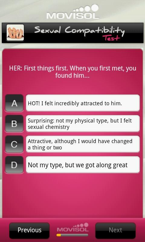 Test sexual for couples compatibility What Turns