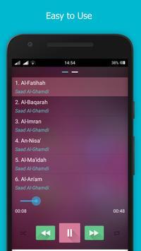 Quran Audio by Saad Al Ghamdi apk screenshot