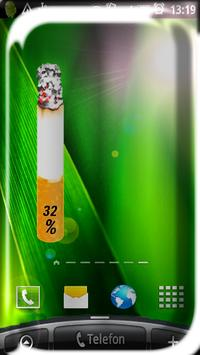 Cigarette Battery Widget poster