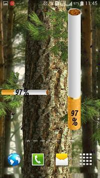 Battery Widget Cigarette apk screenshot