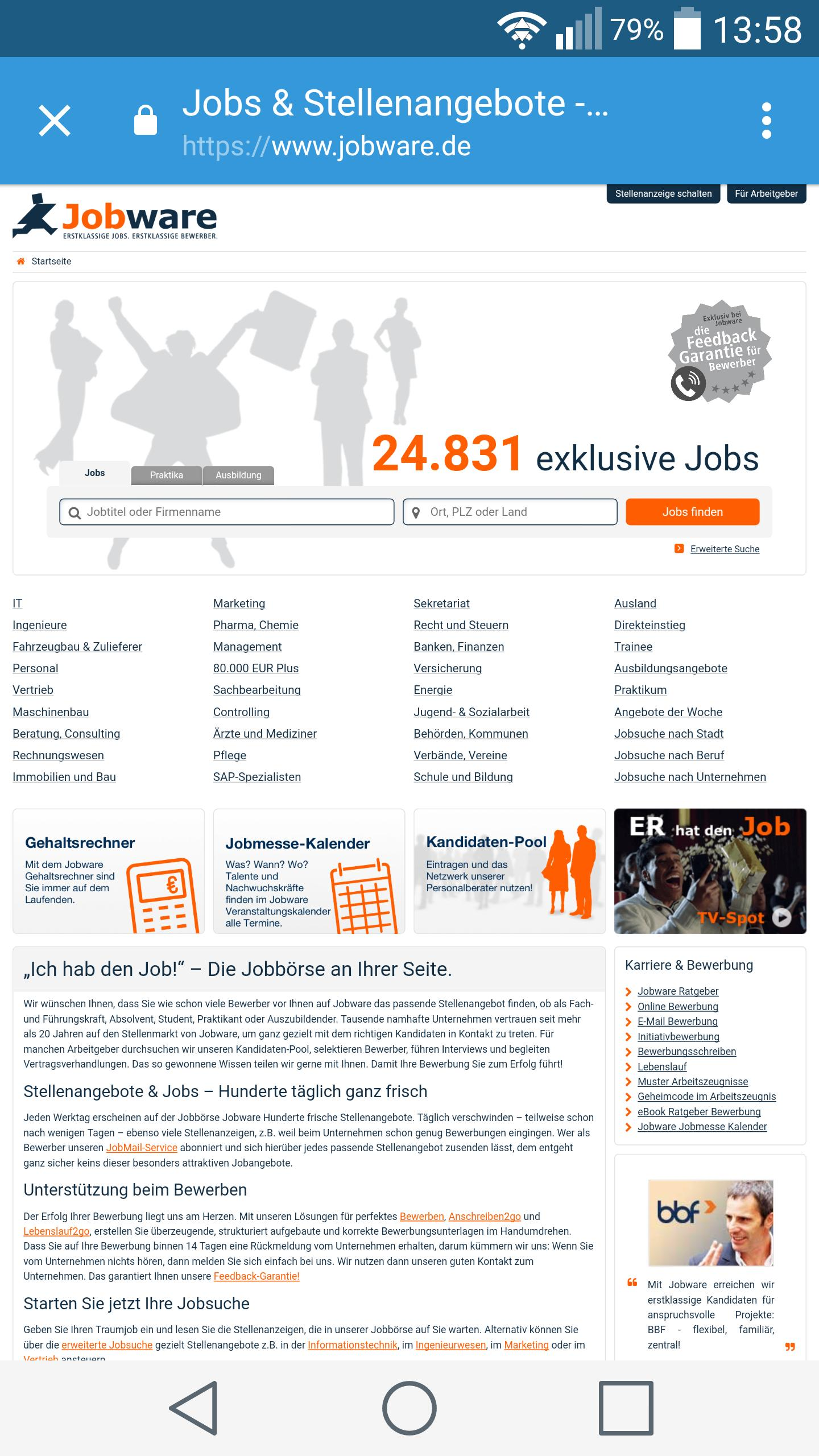 German Jobs For Android Apk Download