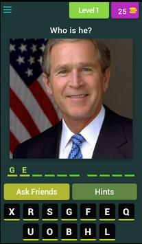 Quiz Presidents USA poster