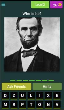 Quiz Presidents USA screenshot 2