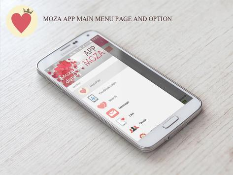 MozaApp Free Dating online poster