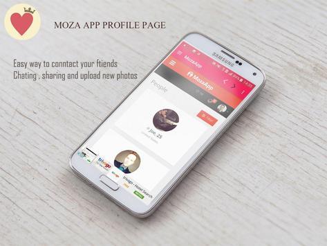 MozaApp Free Dating online screenshot 1