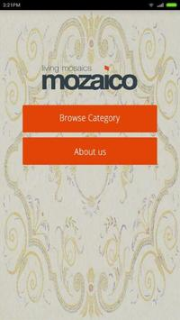 Mozaico poster