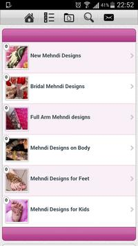 New Mehndi Designs Collection screenshot 2