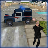 Police Jeep Favela Parking icon