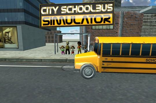 3D Schoolbus Driving Simulator poster