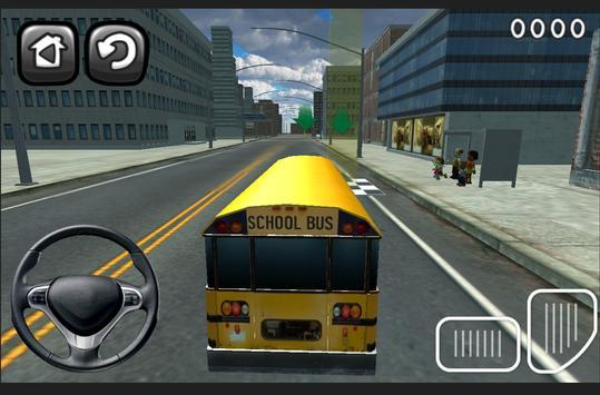 3D Schoolbus Driving Simulator screenshot 11