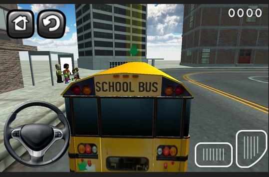 3D Schoolbus Driving Simulator screenshot 3
