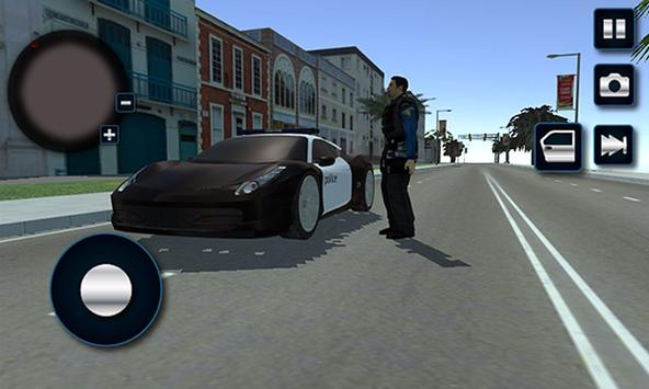 Miami Crime City Police Driver apk screenshot
