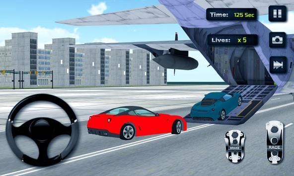 Airplane Car Transporter 2016 apk screenshot