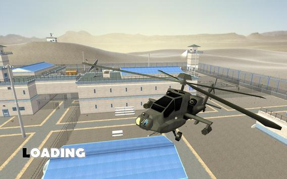 Army Prison Helicopter Escape apk screenshot