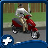 Free Bike Driving School 3D icon