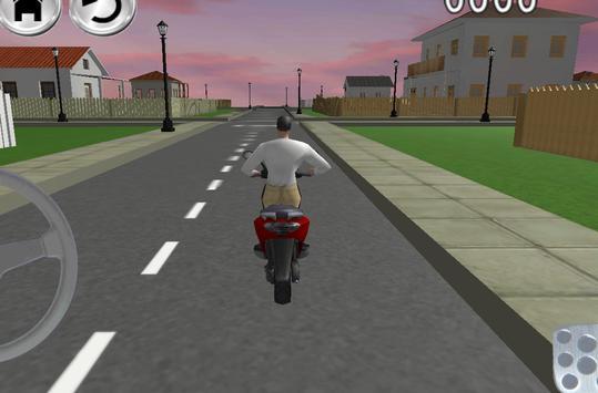 Free Bike Driving School 3D screenshot 1