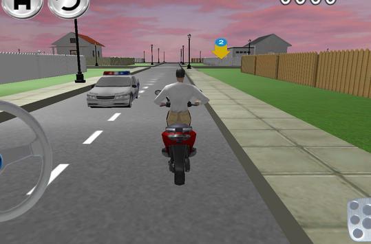 Free Bike Driving School 3D screenshot 3
