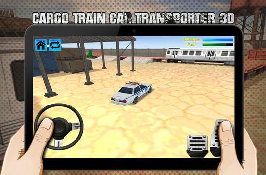 cargo train car transporter 3D screenshot 7