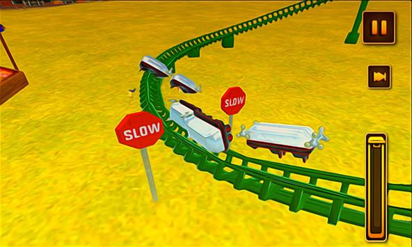 Crazy Roller Coaster Simulator screenshot 1
