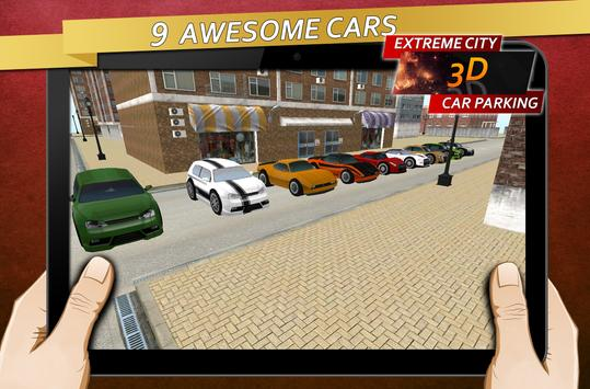 Extreme City Car Parking 3D screenshot 1