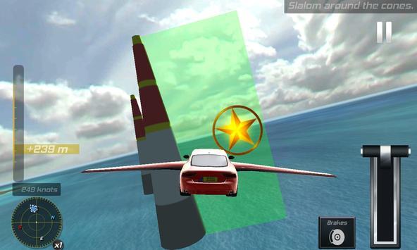Flying Drone Car Flight Pilot poster