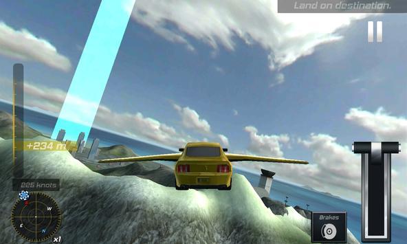 Flying Drone Car Flight Pilot apk screenshot