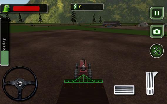 Harvest Tractor Farming Sim 17 apk screenshot