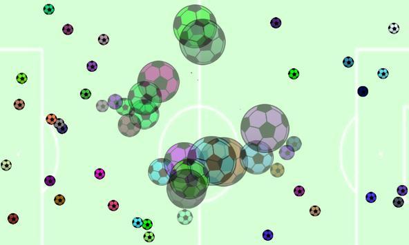 Reacting Chain Pop Balls apk screenshot